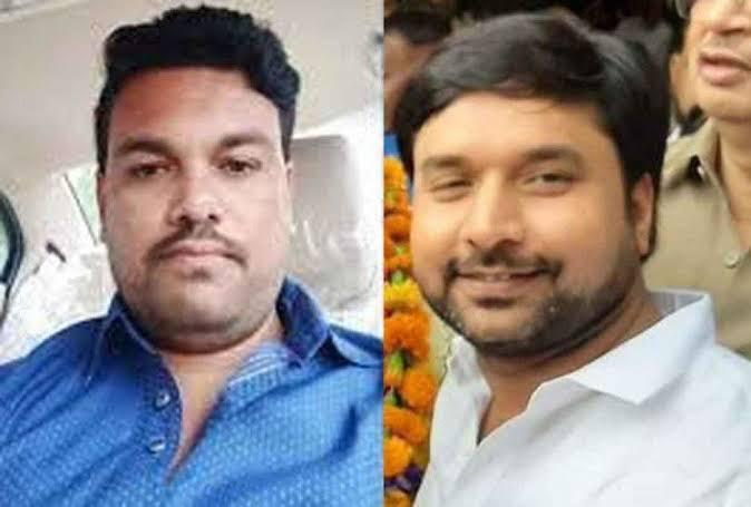 BJP leader dismissed and arrested after he was found helping a criminal escape