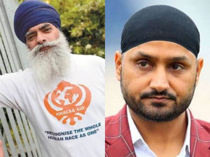 Khalsa Aid founder slams Harbhajan Singh for apology over Bhindranwale post