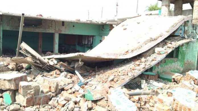 Bihar: Explosion knocks down madarsa, cause unknown
