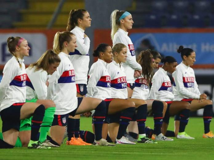 Here's why some Americans want the US women's football team to lose at Tokyo Olympics