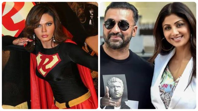 Actor Rakhi Sawant defends Raj Kundra after he was mired in pornography case