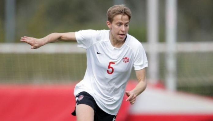 Canadian women's football team player Quinn becomes first trans athlete in Olympics