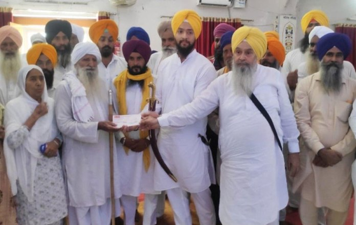 SGPC rewarded Jugraj Singh