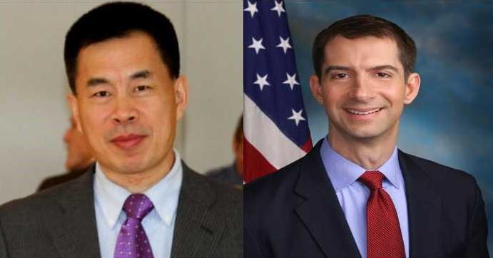 Chen Weihua vs US Senator Tom Cotton