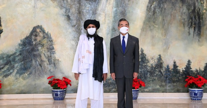 China prepared to accept Taliban as the legitimate ruler of Afghanistan