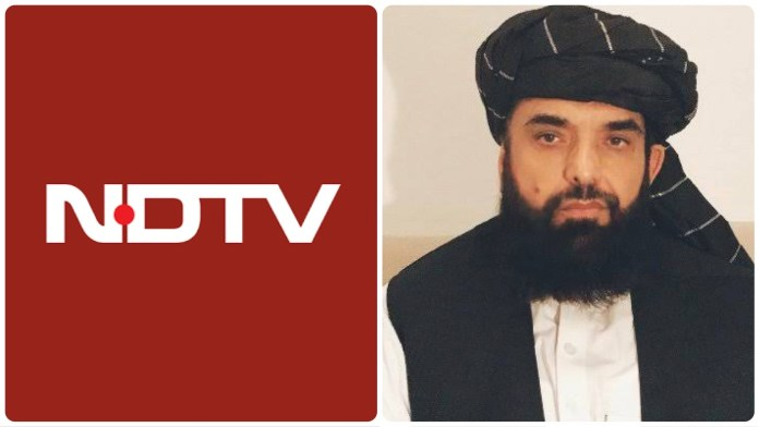 NDTV allows its platform to condone brutal offensive by the Taliban