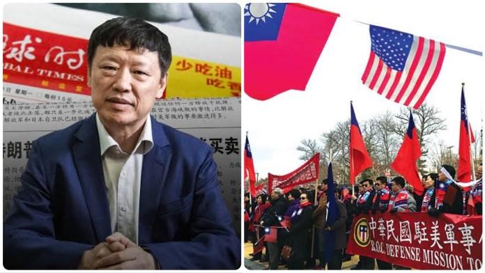 Global Times editor Hu Xijin threatens war against the US and Taiwan