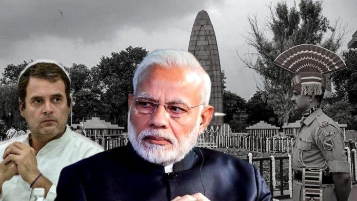 Congress and Rahul Gandhi triggered over Jallianwala Bagh renovation