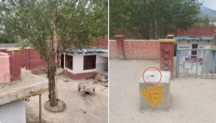 Afghanistan: Taliban forcibly removes Sikh flag from historic gurdwara