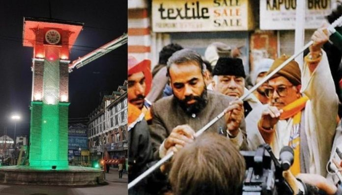 From 1992 to 2021: How the resolve of Narendra Modi changed the scene at the 'Lal Chowk' in Srinagar?