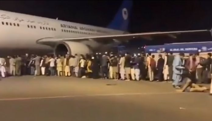 Afghan citizens, embassies shift to airports amidst Taliban's takeover of Kabul
