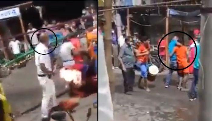 Kolkata: Cops thrash Hindu devotees mercilessly over temple visit
