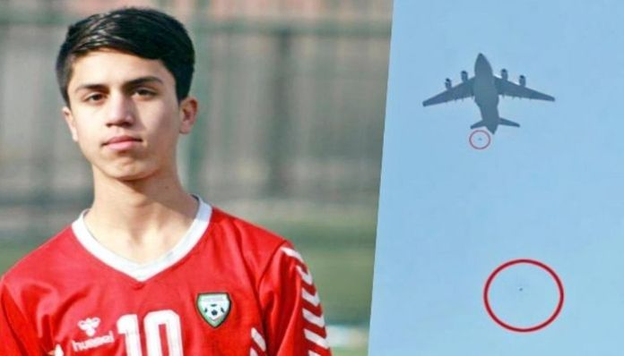 The young Afghan footballer who fell to his death while escaping Taliban