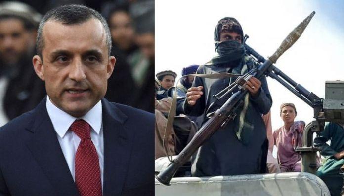 Afghan President Amrullah Saleh warns Taliban against amassing forces in Panjshir valley