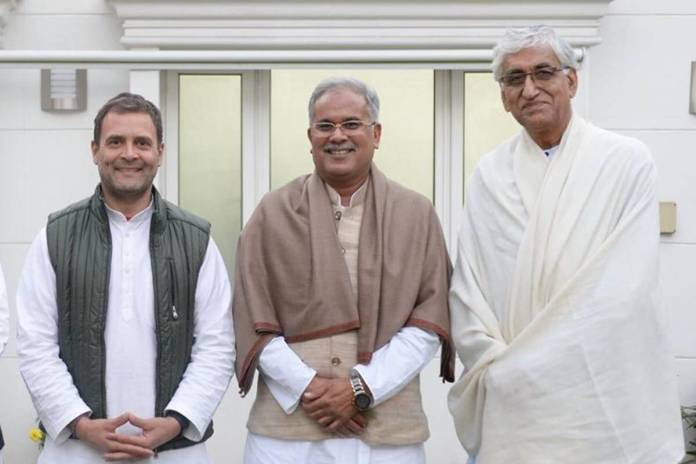 Congress faces another internal rift as factions within Chhattisgarh state unit tussle over power sharing agreement