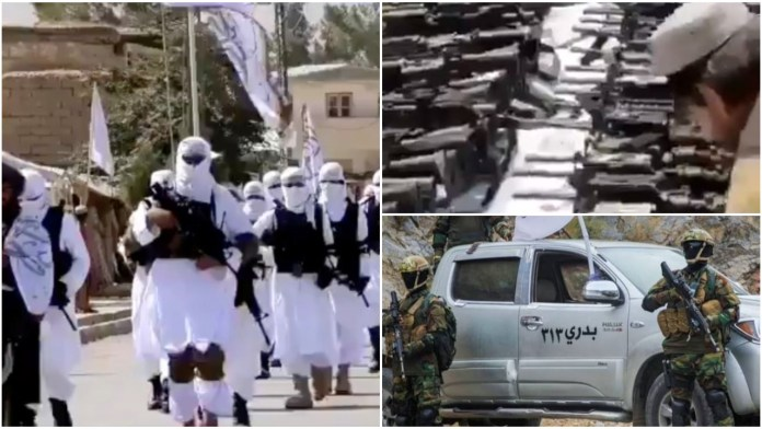 Taliban is now in control of large caches of US-made weapons and military equipment