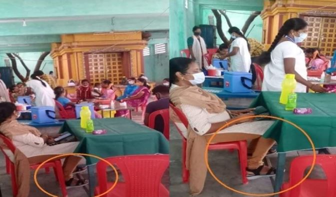The doctor from Vellore Govt Hospital reportedly refused to remove her footwear inside the temple
