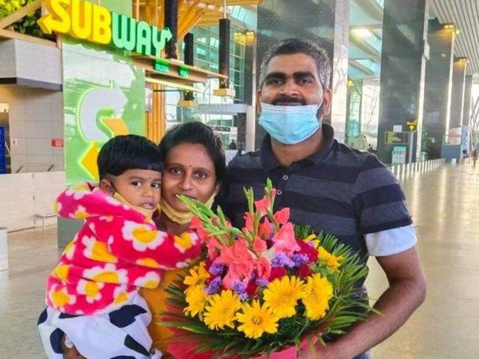 Harish Mangera with family