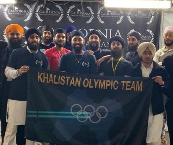 Saw the 'Khalistan Olympic Team' banner? Here's what we know about the group that created it