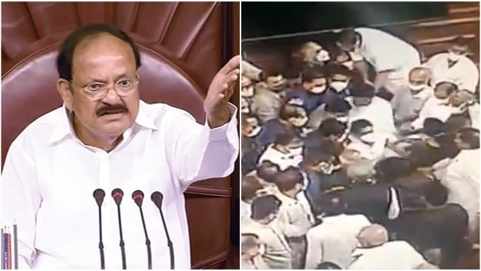 Vice President Venkaiyah Naidu may order a probe on assault against security personnel on August 11 by opposition MPs