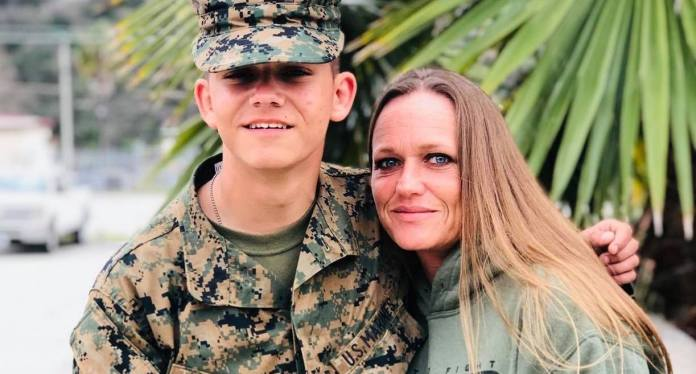 Mother of US Marine who died in Kabul suicide attack says Instagram disabled her account after she criticised Joe Biden