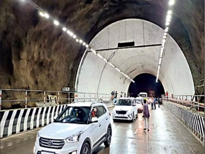 One tube of the kuthiran tunnel was opened for traffic by govt on July 31