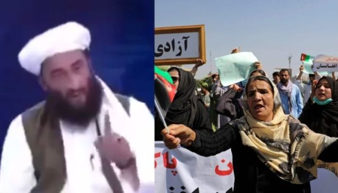 Taliban spokesperson claims that women cannot become 'Ministers' in Afghanistan