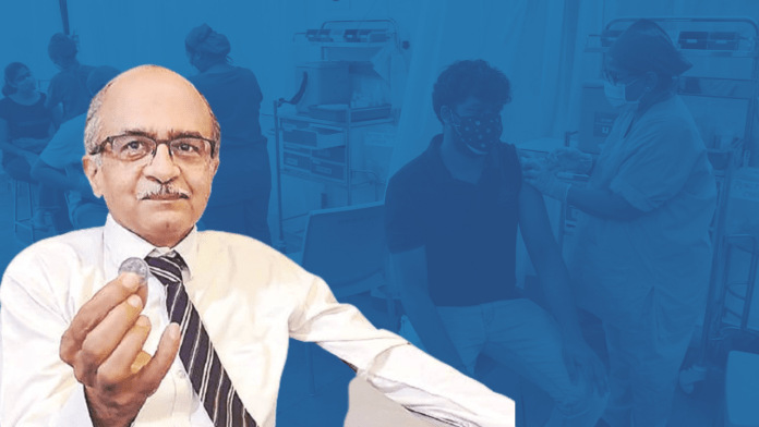 Prashant Bhushan continues to spread anti-vaccine propaganda, lies about Sweden