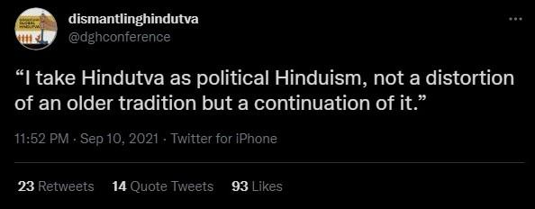 Digital Hindutva conference