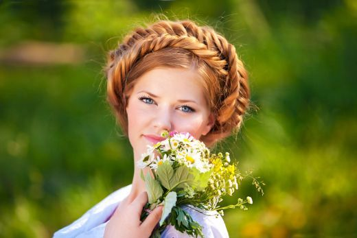 Parul Impletit Coafura Ideala Pentru Nunta Vezi Aici