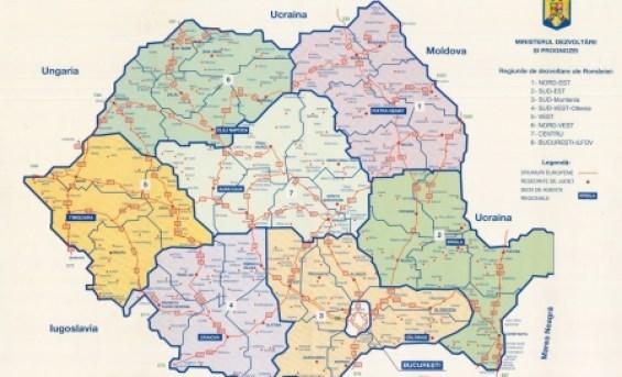 Se Schimba Harta Romaniei Vom Avea Opt Regiuni Opinia Timisoarei