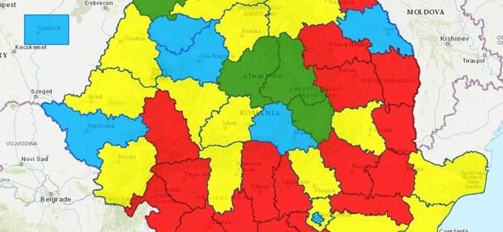 Psd A Castigat Un Singur Judet Din Banat Si Transilvania Harta
