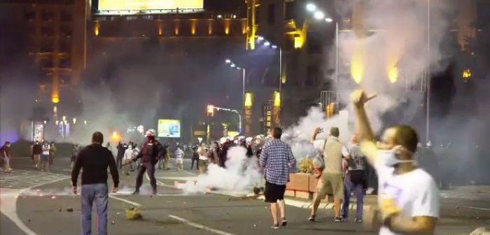 Violente in Serbia, dupa ce Guvernul a anuntat revenirea la starea de