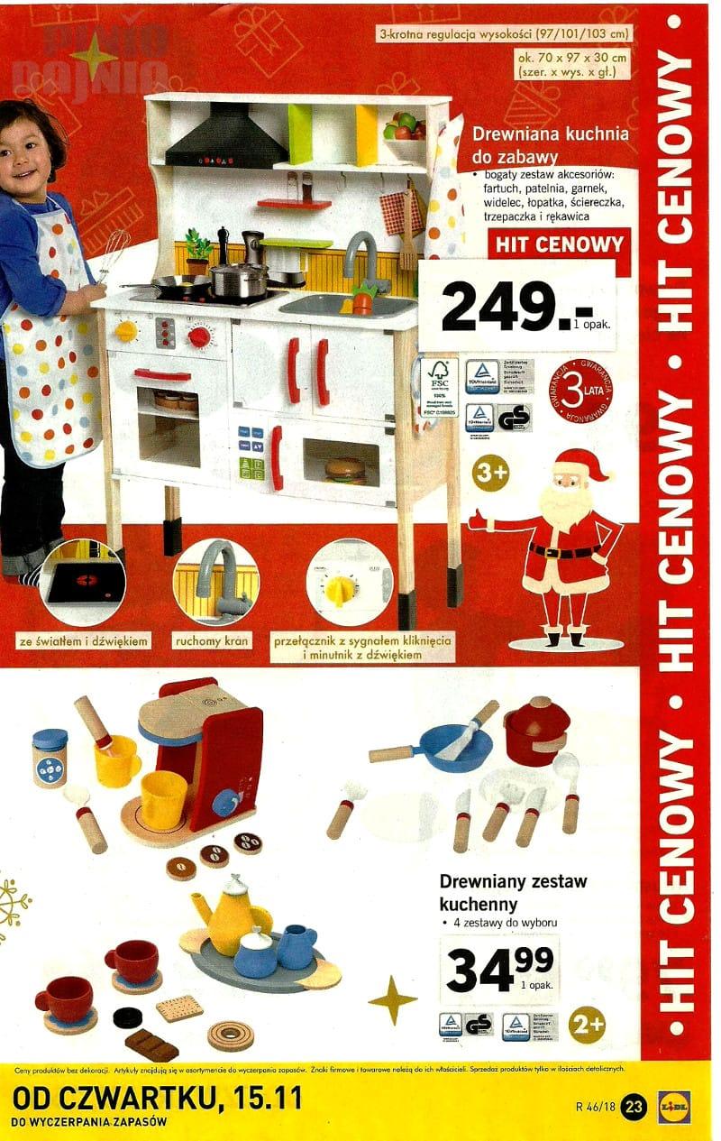 Lidl 12 11 2018 Listopad Katalog Kuchnia Drewniana Do Zabawy