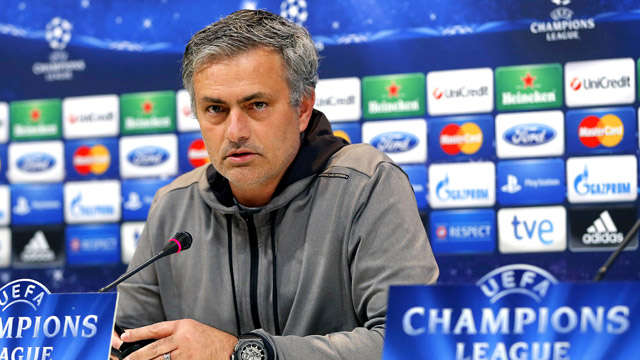José Mourinho gives press conference in Madrid