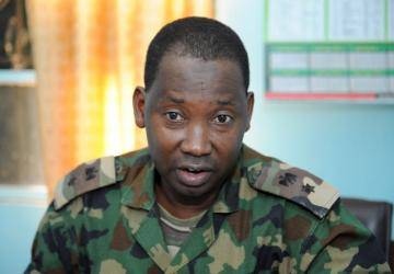 Lt. Colonel Sagir Musa