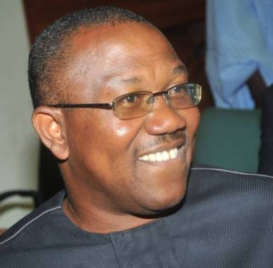 Former Anambra State governor Peter Obi reportedly left N74 billion to his successor