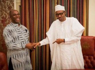 Ex-governor of Rivers State and President Muhammadu Buhari