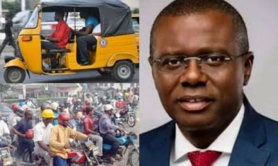 Lagos state governor Sanwo-Olu