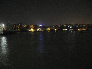 Some Pictures from the Dona Paula Jetty at Midnight