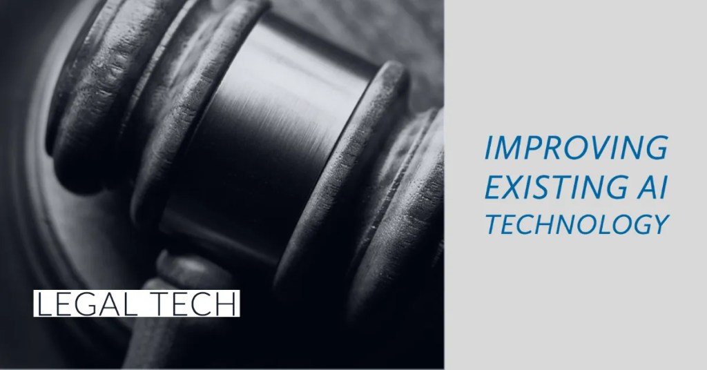improving text classification for legal tech