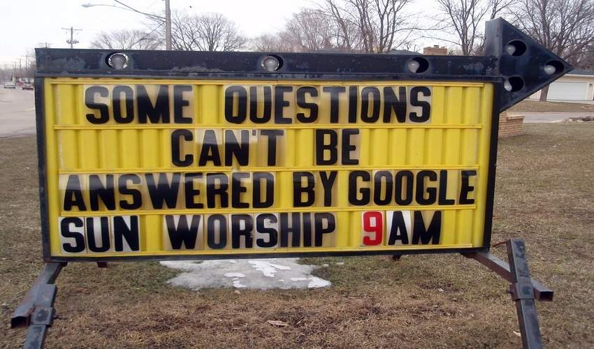 Google Church?