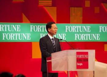 Wang Jianlin. Picture: Fortune Live Media
