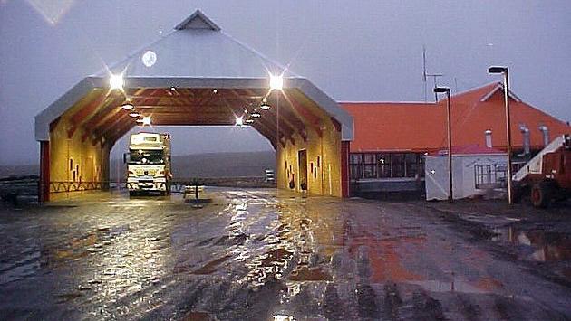 El paso fronterizo San Sebastián en Tierra del Fuego Chile - Foto: web