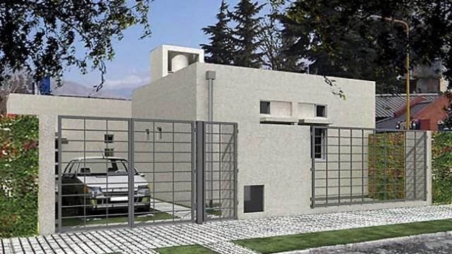Modelos de casa del plan ProCreAr - Foto: