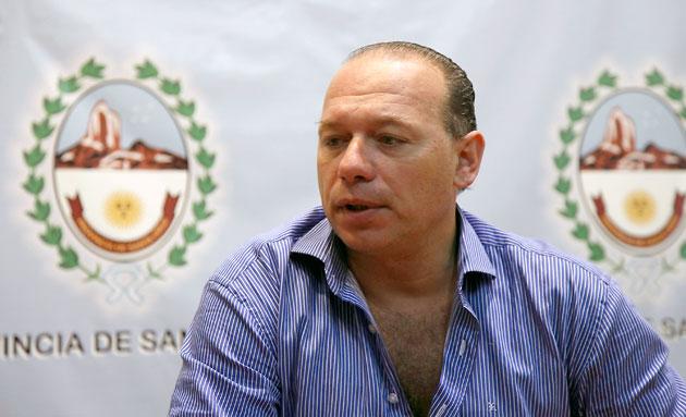 El Secretario de Seguridad de la Nación Sergio Berni - Foto: OPI Santa Cruz