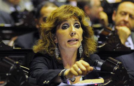 La Diputada de la UCR Elsa Álvarez – Foto: Infobae.com