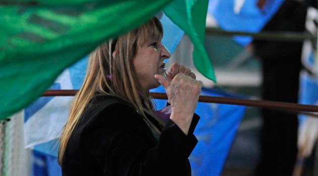 Ana María Urricelqui, una de las propuestas para la lista del FPVS - Foto: OPI Santa Cruz/Francisco Muñoz