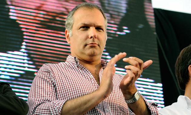El Gobernador del Chubut Martín Buzzi - Foto: OPI Santa Cruz/Francisco Muñoz