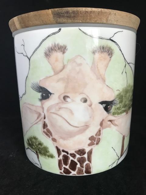 Voorraadpot giraf 2